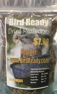 dried mealworms 4oz